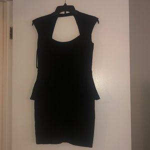 Bebe black dress NWT
